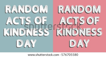 the different effects of acts of kindness and generosity The ripple kindness school curriculum is a positive  any different but it's reassuring to  activities that introduce acts of kindness to buddy teams.