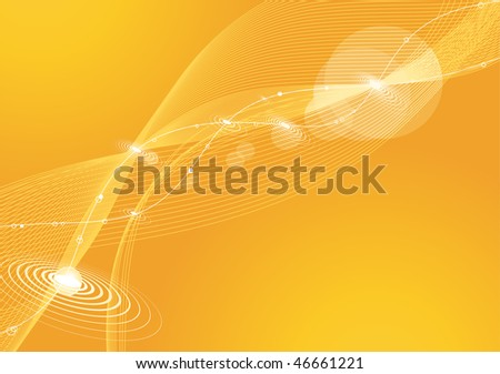 Digital Abstract Background - stock vector