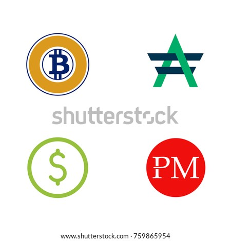 Digital Currency Logo Set
