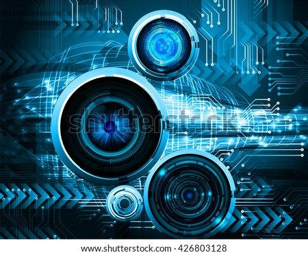 digital data background,blue abstract light hi tech pixel internet technology, Cyber security concept, Cyber digital, Cyber computer, Cyber background,cyber data, Cyber Technology,computer security - stock vector