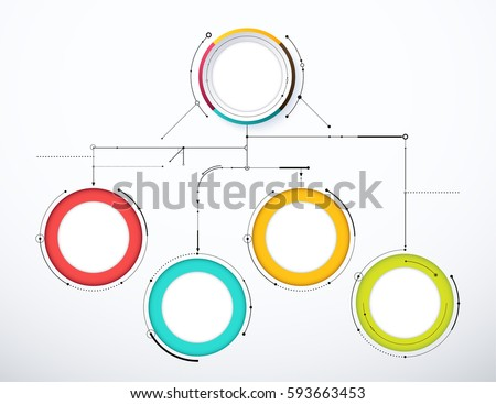 Digital diagram style diagram flow chart stock vector royalty free digital diagram style diagram and flow chart of technology concept presentation vector illustration ccuart Images