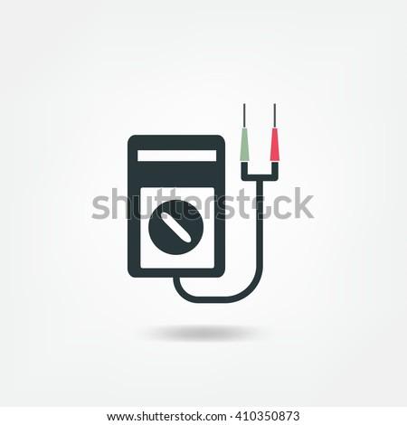 Digital Multimeter Electrical Measuring Instrument Voltage Stock