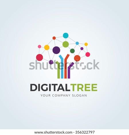 digital logo stock images royaltyfree images amp vectors