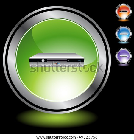 Digital Video Recorder - stock vector