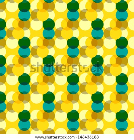 Dimensional Dot Pattern - stock vector
