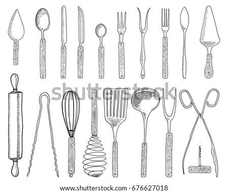 cooking utensils stock images royalty free images vectors shutterstock. Black Bedroom Furniture Sets. Home Design Ideas