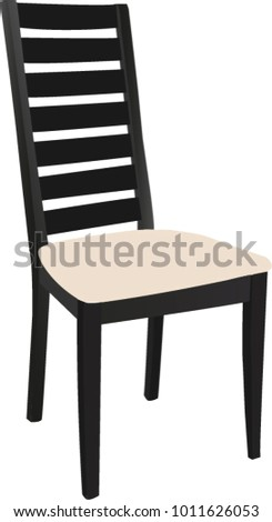 Dining Room Chair Vector