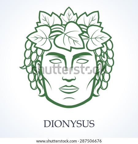 Dionysus Stock Vector 287506676 Shutterstock