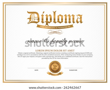 Diploma Certificate Stock Images RoyaltyFree Images  Vectors