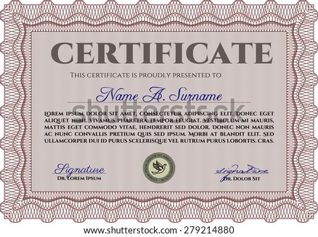 Diploma Template Certificate Template Border Framegood – Money Certificate Template