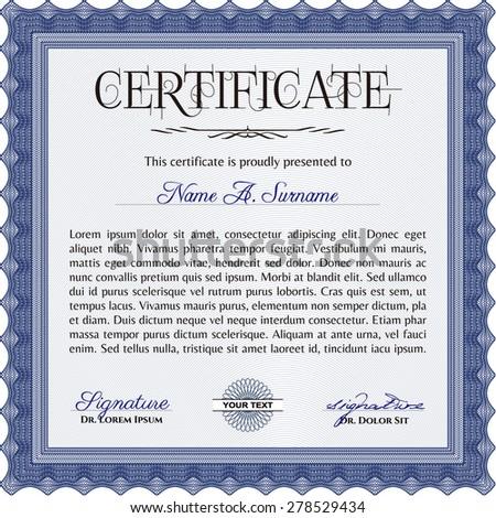 grey diploma template excellent design vector stock vector  diploma background vector illustration complex design