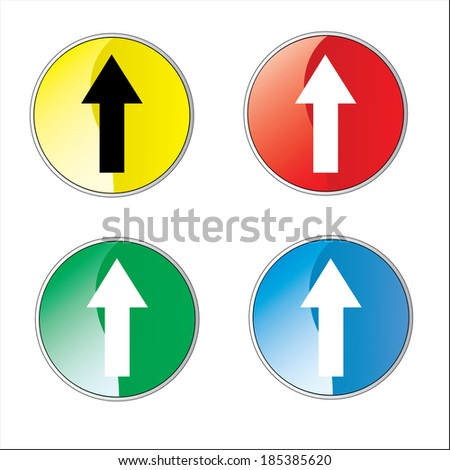 Direction Sign- Vector - stock vector