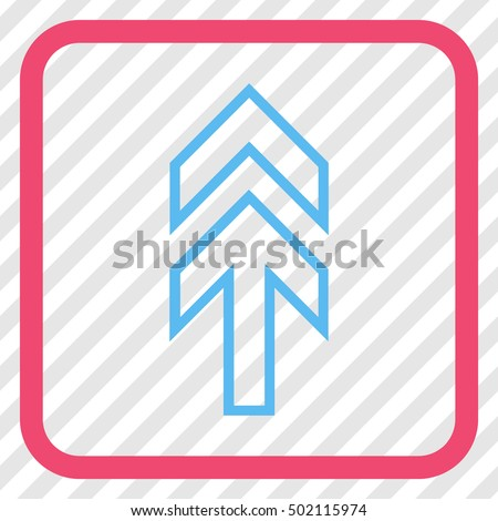 Direction Cyan Blue Vector Icon Image Stock Vector ...