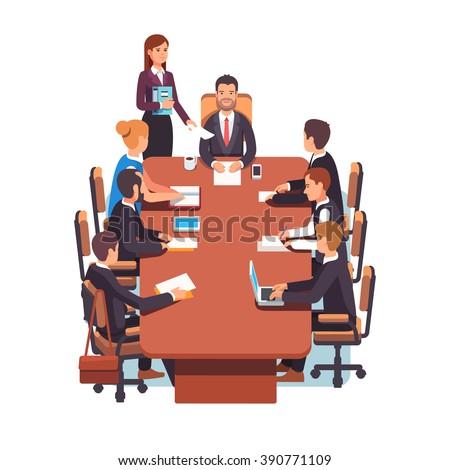 Big Company Conference Room