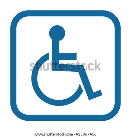 handicap symbol stock images royalty free images vectors rh shutterstock com picto handicapé vector handicap vector sign