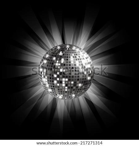 silver disco ball background - photo #25
