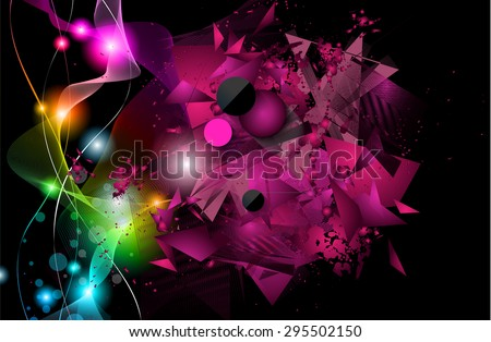 dj speakers stock images royalty images vectors shutterstock disco night club flyer layout speaker shape and music themed elements to use for event