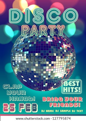 Disco Party Invitations for best invitations ideas