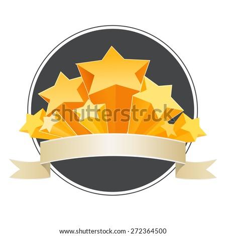 Disco Stars - stock vector
