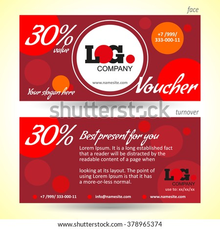 Coupon Flyer Template Talk To Us Or Stalk Us Right Here  Free