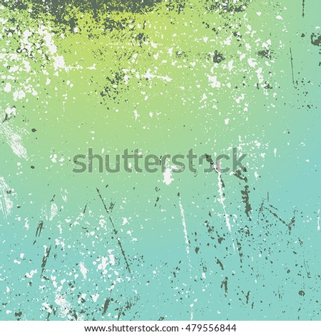 Distressed Color Texture with peeled paint and scratched. Empty grunge background. EPS10 vector.