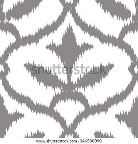 Distressed Medieval French Pattern Seamless Background Stock Vector