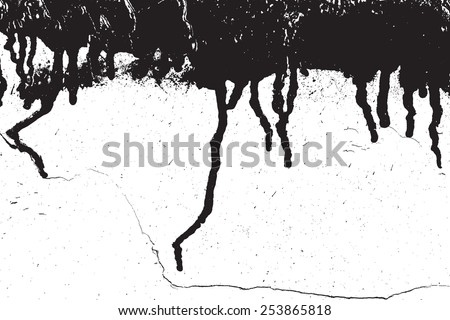 Distressed Overlay Texture for your design. EPS10 vector.