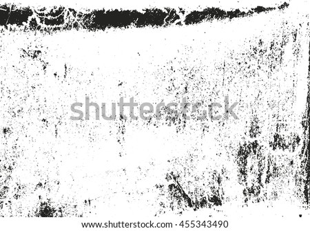 Distressed overlay texture of rusted peeled metal. grunge background. abstract halftone vector illustration - stock vector