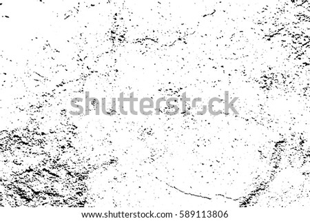 Distressed Texture Of Noise And Cracks Obsolete Concrete Wall Weathered Asphalt Surface Black