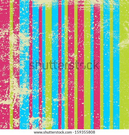 Distressed Wallpaper - abstract grunge background. EPS10 vector. - stock vector