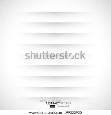 Dividers, Isolated On Grey Background  - stock vector