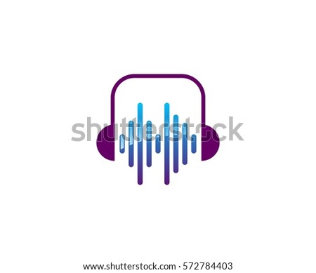 Headphone Logo Stock Images, Royalty-Free Images & Vectors ...