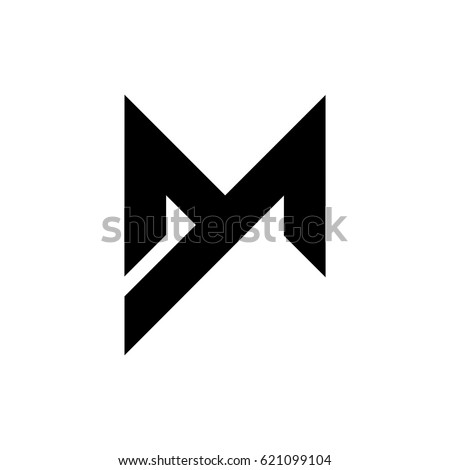 letter m logo stock vector 342055289 dm stock images royalty free images amp vectors 906