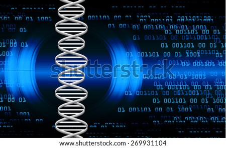 DNA background. molecular structure of planar elements. vector. blue Light Abstract Technology background for computer graphic website internet and business. text box. Tables, mosaic - stock vector