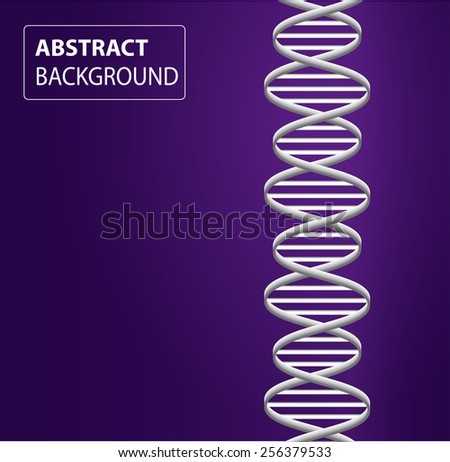 DNA background. molecular structure of planar elements. vector. purple Light Abstract Technology background for computer graphic website internet and business. text box.