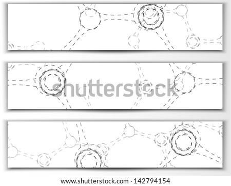 dna, molecule - stock vector
