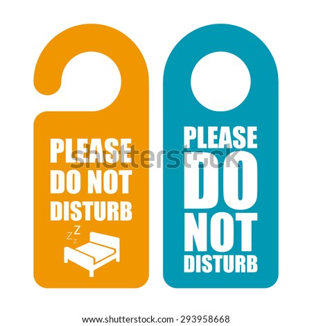 Do Not Disturb Stock Images RoyaltyFree Images  Vectors