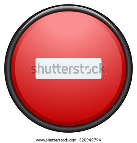 Do Not Enter - stock vector