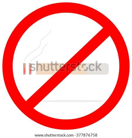Do not smoke - stock vector