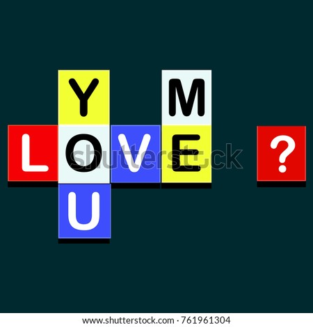 Do You Love Me Stock Images, Royalty-Free Images & Vectors ...