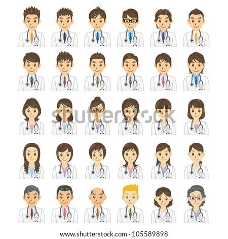 doctor - stock vector