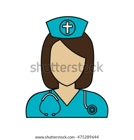 doctor avatar isolated icon vector illustration design