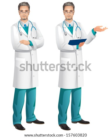 Doctor, Health care And Medicine - stock vector