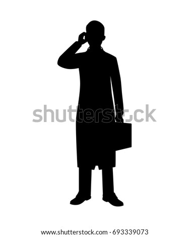 doctor silhouette stock images royaltyfree images