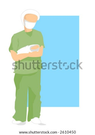 Doctor - Vector - stock vector
