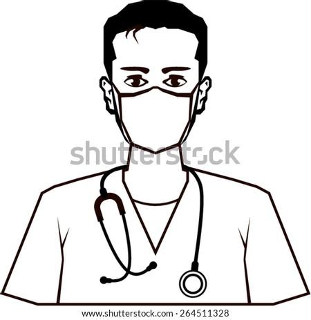 Doctor vector - stock vector