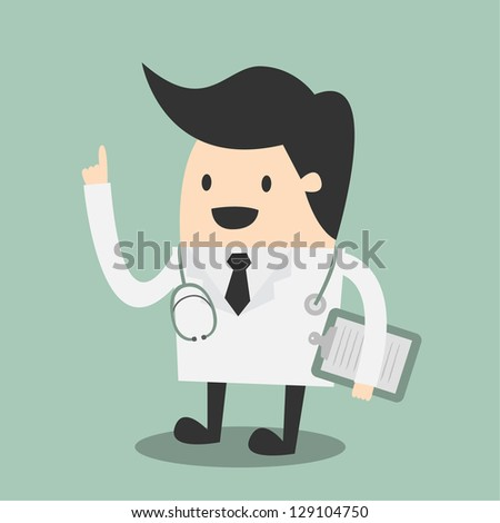 Doctor vector illustration - stock vector