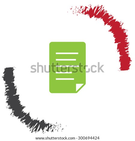 document black vector logo