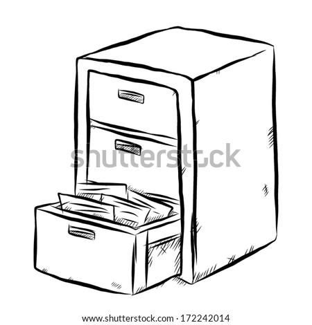 Open Drawer Icon Banco de imagens, imagens e vetores livres de ...