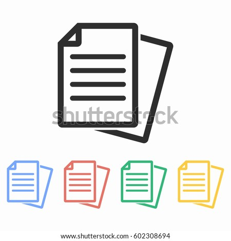 document icon stock images royaltyfree images amp vectors